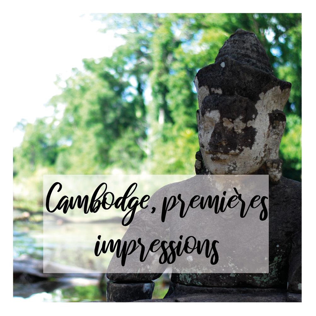 Illustration de l'article sur mes premières impressions au Cambodge