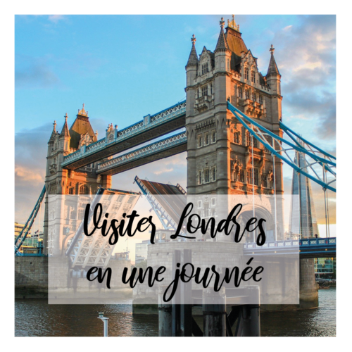 Illustration article Visiter londres en une journée - Tower bridge