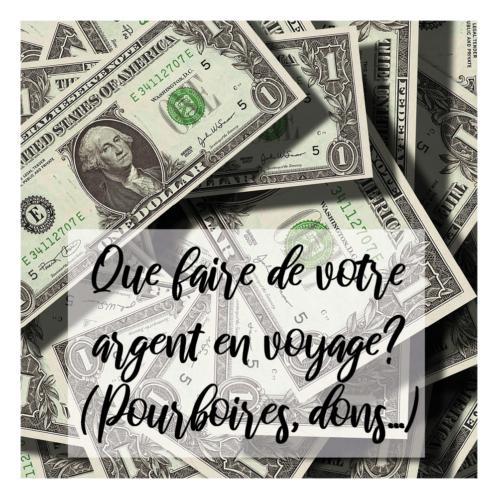 Illustration d'article Que faire de votre argent en voyage